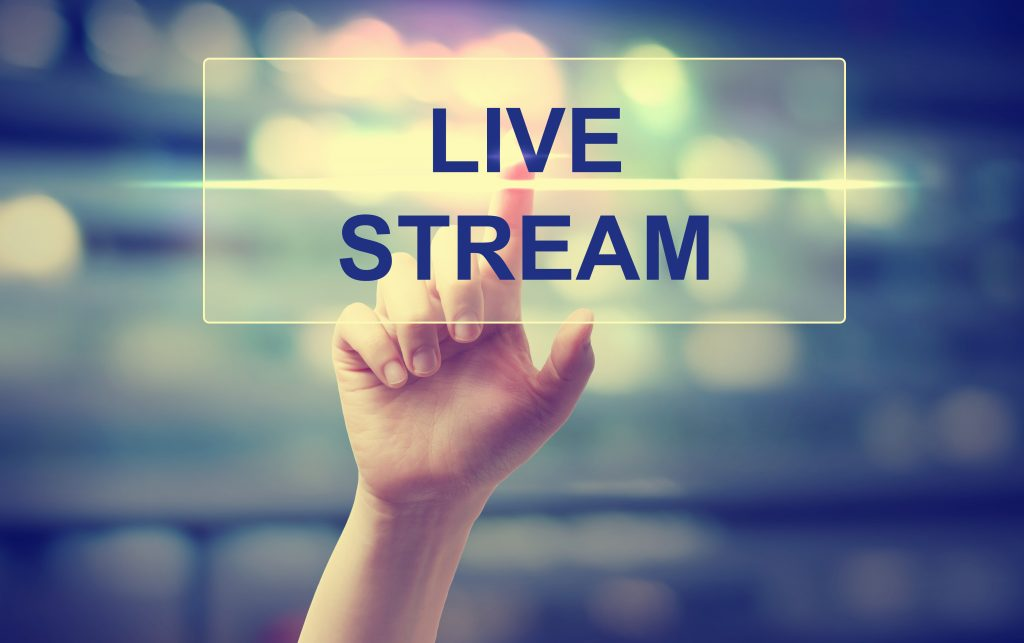 Video Live Streaming  broadcast Eventi