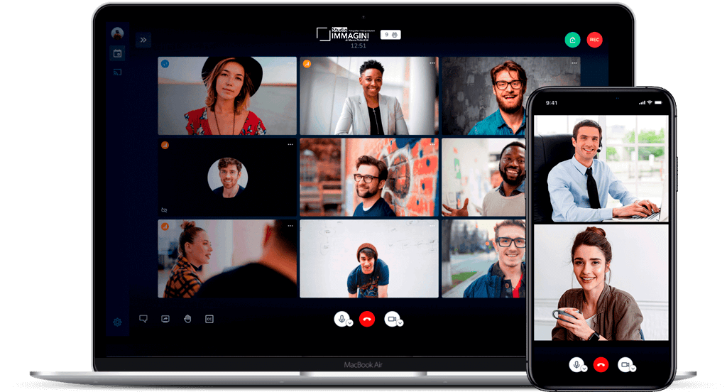 sistema meeting videoconferenza