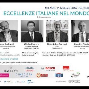 LEARNINGDRINK2016 - Eccellenze Italiane nel Mondo
