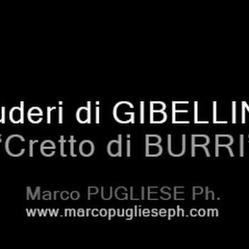 Ruderi di GIBELLINA - Cretto di BURRI - Memorial to a town of Gibellina, destroyed by earthquake